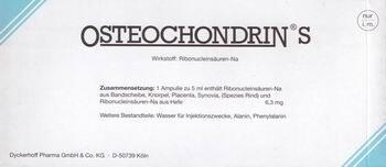 Остеохондрин с