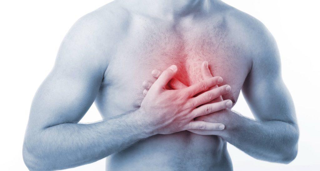 причина в остеохондрозе или сердце