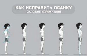 Как исправить осанку (силовые упражнения)