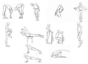 10 упражнений Амосова