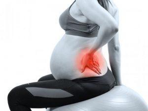 Спинные боли при беременности и родах